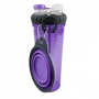 Popware H-Duo w-travel cup, paars
