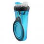 Popware H-Duo w-travel cup, blauw