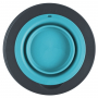 Popware Single Elevated Feeder, blauw