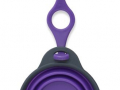 Travel Cup with bottle holder, paars