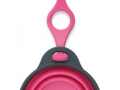 Travel Cup with bottle holder, roze