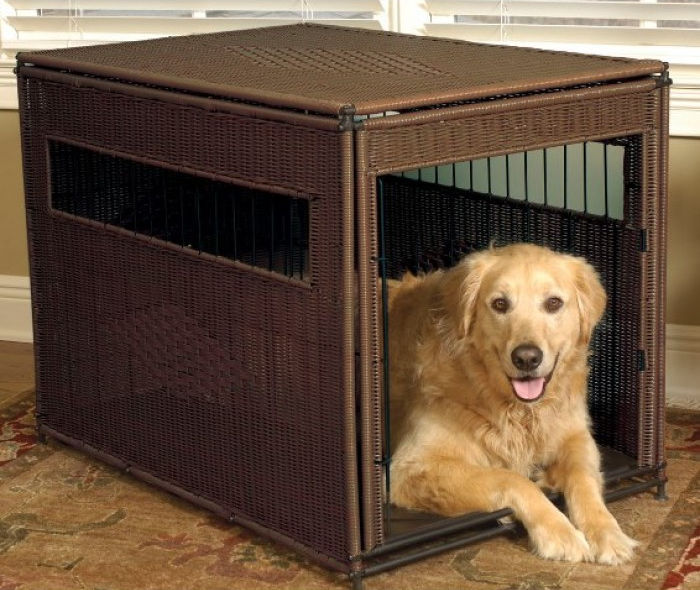 Mr. Herzher Original Wicker Pet Residence